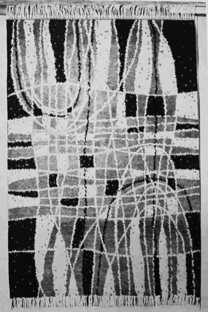 Viola Theinová Ručne viazaný koberec, 1962