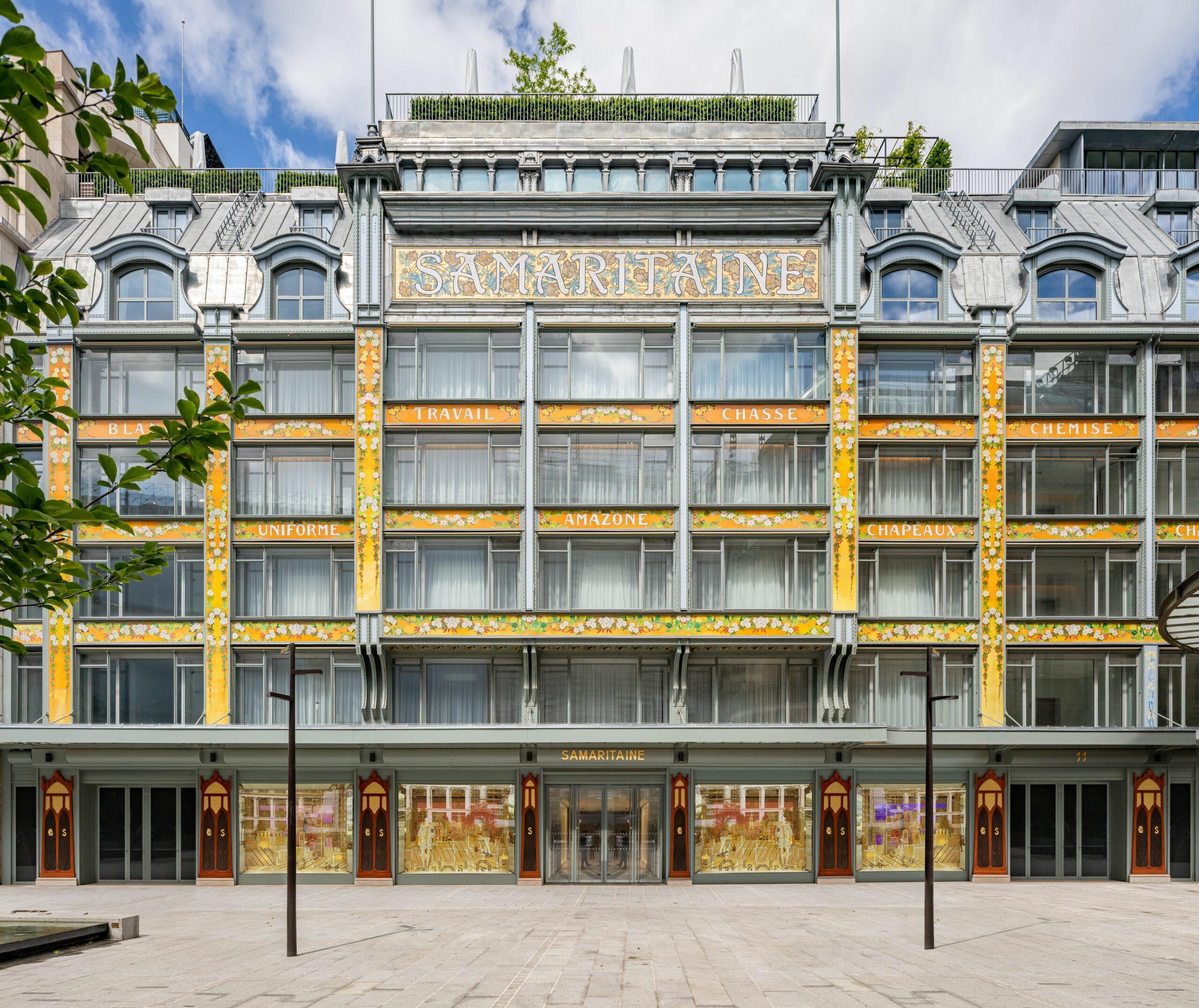 Obchodný dom La Samaritaine, fasáda. ©WeAreContent