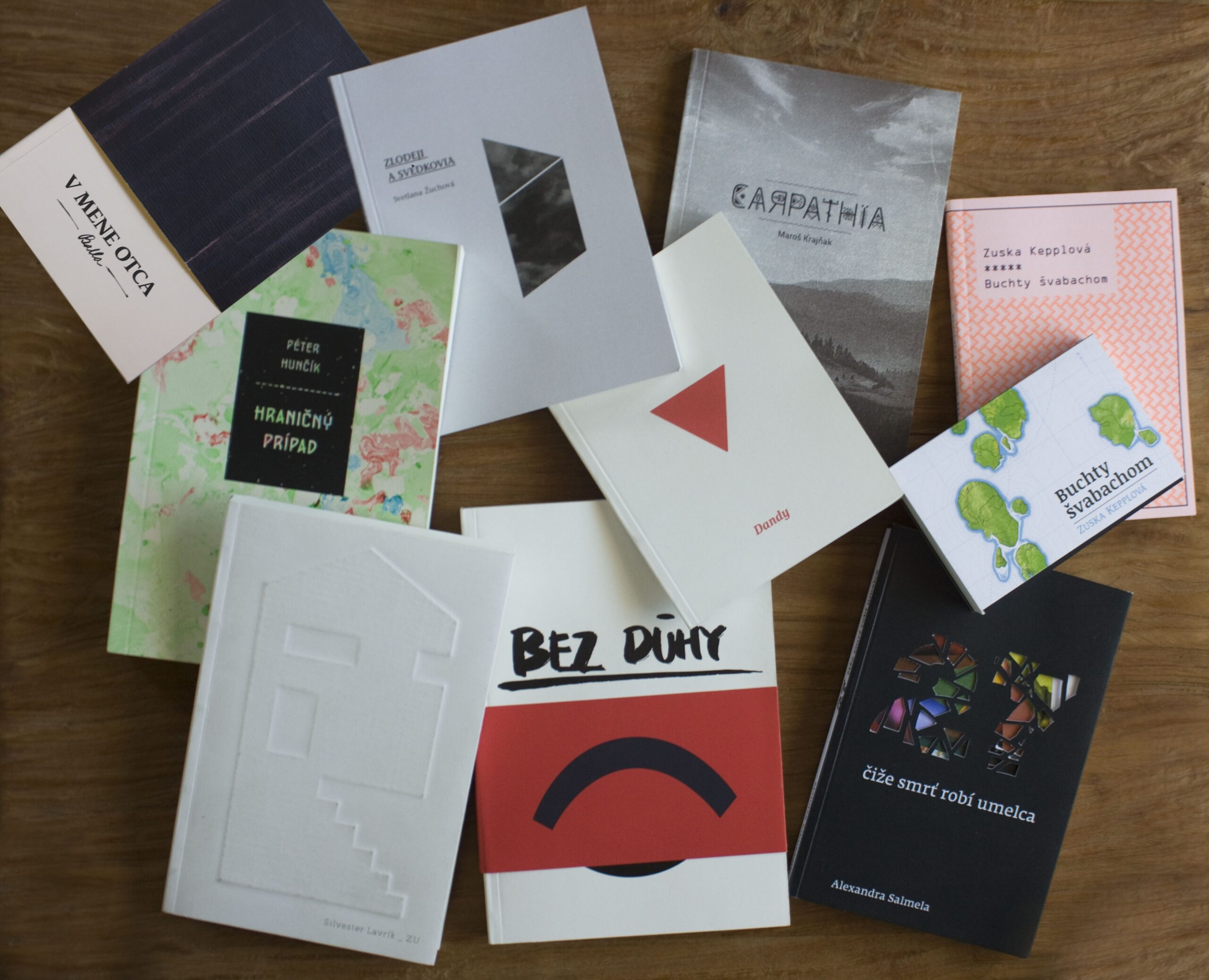 Redizajn kníh finalistov Anasoft litera 2012,
