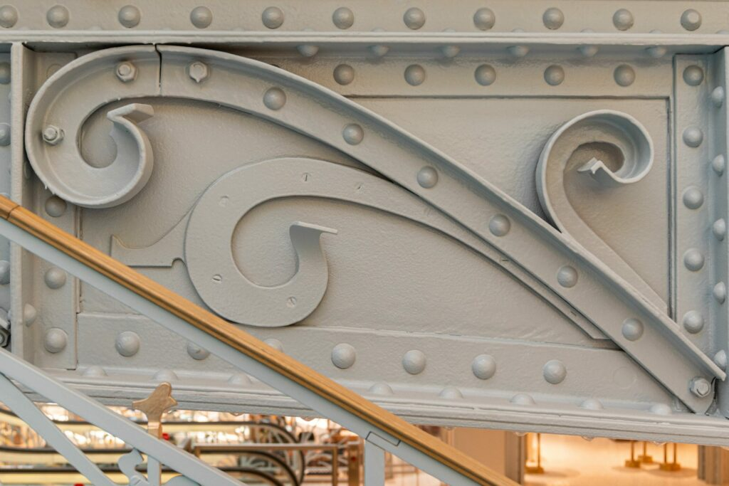 Reštaurované pôvodné dekorácie, detail. ©WeAreContent