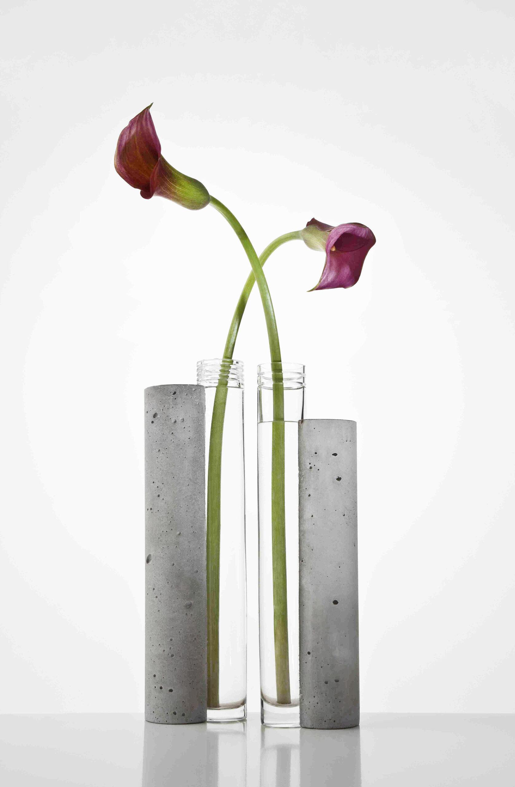 Patrik Illo: Bet-om, Kolekcia váz, Betón, Sklo, 2012