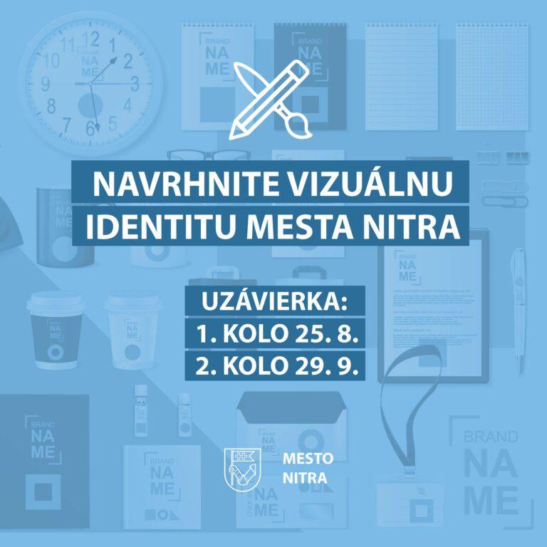 Súťaž o vizuálnu identitu mesta Nitra