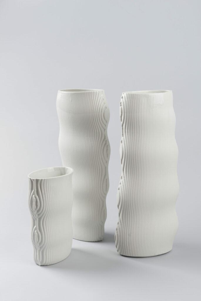 Simona Janišová a Linda Viková / si.li ceramics / Beech Vase Foto © Adam Šakový