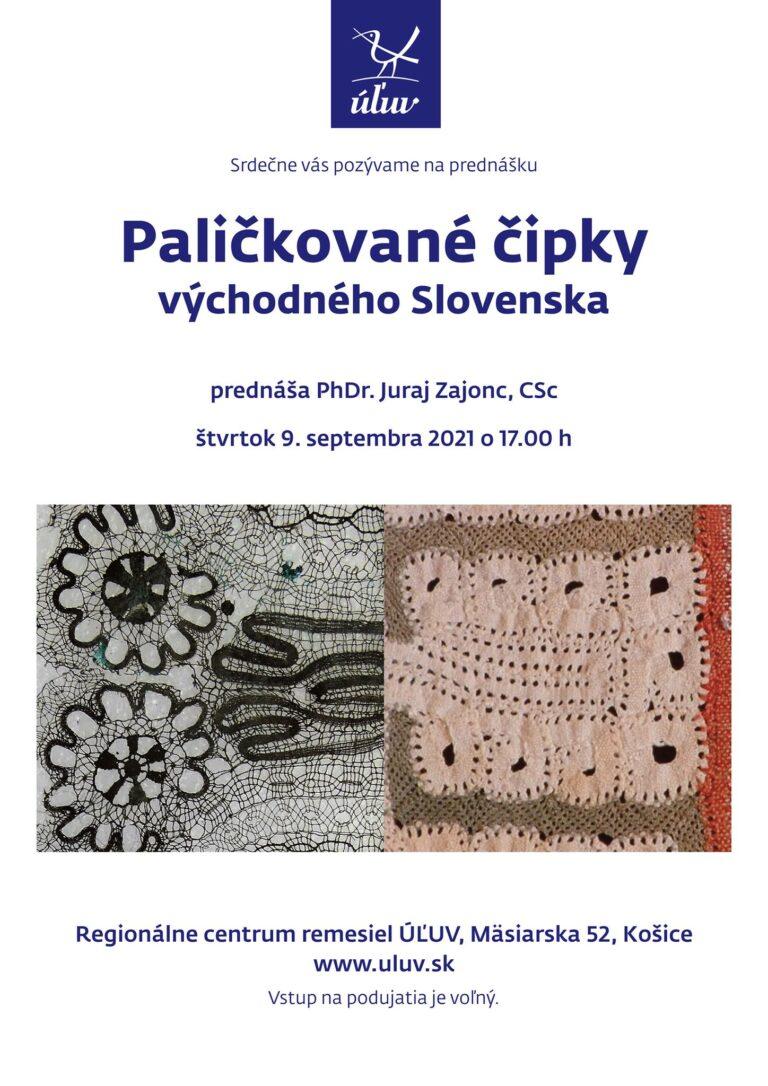 Paličkované čipky východného Slovenska