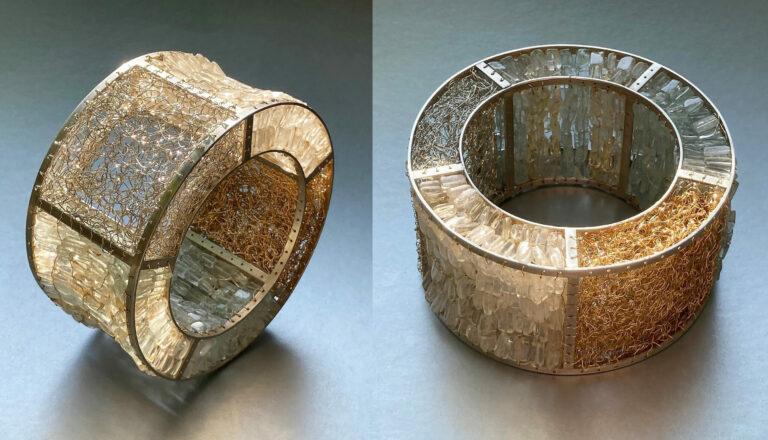 The Big Golden Crystal Bracelet