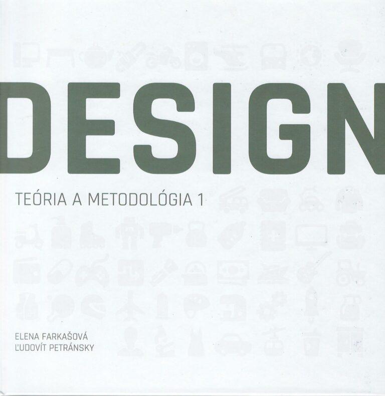Design – teória a metodológia 1 – vysokoškolská učebnica
