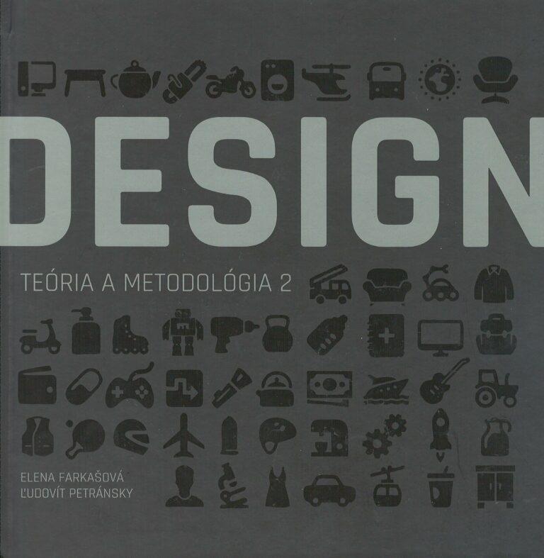 Design – teória a metodológia 2 – vysokoškolská učebnica